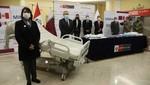 Qatar entrega donación de equipos de protección y camas UCI al Minsa y al Mindef