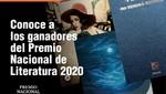Ministerio de Cultura presenta a los ganadores del Premio Nacional de Literatura 2020