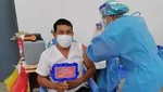 Macro región de oriente avanza en la meta de aplicar primera dosis de vacuna al personal sanitario