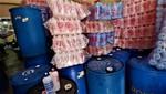 Incautan 20 000 frascos de alcohol sin registro sanitario listos para la venta en San Martín de Porres