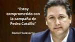 Daniel Salaverry: 'Soy militante de Somos Perú y ahora estoy comprometido con la campaña de Pedro Castillo'