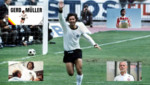 Murió Gerd Müller, uno de los astros del fútbol alemán