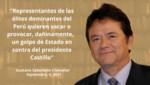 Representantes de las élites dominantes del Perú quieren vacar o provocar un golpe de Estado en contra del presidente Castillo