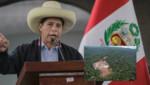Pedro Castillo: 'Nos vamos a comprar el pleito para recuperar el gas de Camisea para todos los peruanos'