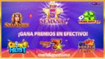¡Gana premios en efectivo con los mejores juegos de la semana en Meridian Casino!