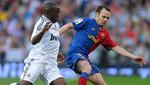 Andrés Iniesta: 'El Madrid es un equipazo'
