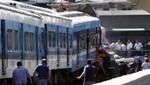 Dos peruanos continúan desaparecidos tras accidente ferroviario en Buenos Aires