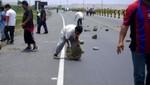 Panamericana Norte fue desbloqueada en La Cruz