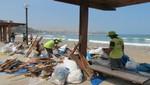 Recogen más de 30 toneladas de residuos varados en playas de Barranco