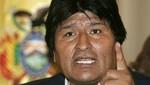 Evo Morales tildó de 'mal vecino' a Chile