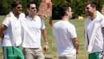 Ricky Martin no soltó a su novio en Italia