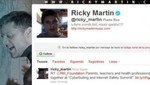Ricky Martin triste por suicido de joven gay
