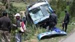 Un muerto y 20 heridos dejó accidente de tránsito en el Cusco