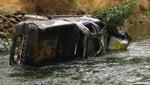 Despiste de camioneta deja cuatro muertos en Huarochirí