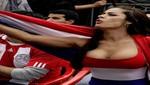 Larissa Riquelme desea éxitos a Irina Grandez y Daysi Araujo (VIDEO)