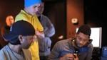 Justin Bieber y Usher graban de 'The Christmas song' (video)