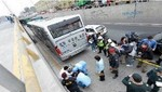 Barranco: Bus del Metropolitano atropelló a joven que cruzó la pista de forma imprudente
