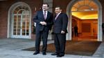 Ollanta Humala se reunió con el presidente español Mariano Rajoy