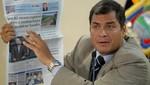 Correa acusó a 'El Universo' de pretender 'deslegitimar' al Poder Judicial