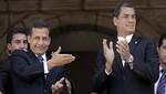 Rafael Correa destaca encuentro que sostendrá con el presidente Humala