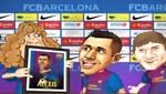 Vea el toon que el Barcelona le creó a Alexis Sánchez