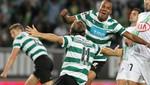 Sporting de Lisboa goleó al Gil Vicente