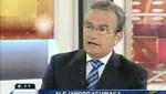 Congresista Aguinaga criticó apoyo de Toledo al actual gobierno