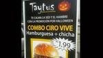 Restaurante en Santa Anita se burla de Ciro Castillo