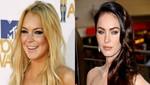 Lindsay Lohan y Megan Fox compiten por encarnar a Liz Taylor
