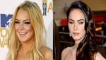 A quien prefieres para el papel de Liz Taylor ¿Lindsay Logan o Megan Fox?