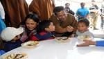 Ollanta Humala: Se ha cumplido con poner en marcha los programas sociales en favor de los más pobres