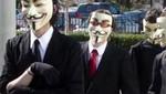 Anonymous anuncia 'Mega-ataque' para el 5 de noviembre