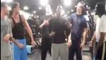 Jugadores de la NBA bailan el 'Au se eu te pego' (video)