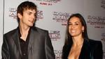 Ashton Kutcher apoya a una Demi Moore intoxicada con Red Bull