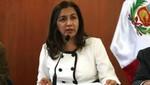 Marisol Espinoza expondrá políticas del Perú en materia de DD.HH. ante la UE
