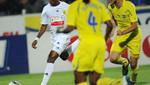 Samuel Eto'o marcó su primer gol con el Anzhi