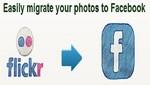 Crean programa para pasar fotos de Flickr a Facebook