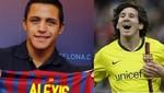 Alexis Sánchez: 'Cada día aprendo algo nuevo de Messi'