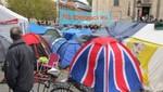 Londres: Indignados que acampaban frente a Catedral de San Pablo fueron desalojados