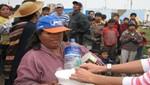 Indeci repartió más de 224 toneladas de productos de primera necesidad a damnificados por las lluvias