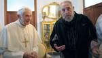 Fidel Castro se reunió durante media hora con Benedicto XVI