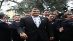 Banda de música presidencial ofreció temas ecuatorianos a presidente Correa