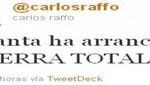 Carlos Raffo: 'Humala ha declarado la guerra'