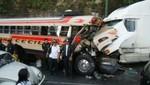 Cusco: tres muertos y 20 heridos deja accidente de tránsito