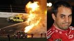 Piloto colombiano Juan Pablo Montoya sufrió accidente en competencia de Nascar