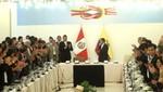 Ollanta Humala: 'El reto impuesto por la historia es una mayor integración'