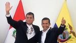 Rafael Correa: 'El destino de Ecuador está unido al Perú'