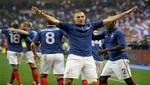 Amistoso Internacional: Francia venció de visita 2 a 1 a Alemania