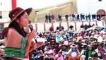 Nadine Heredia: 'Hoy empieza el nuevo cambio para el sur del país'
