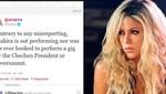 Shakira en el ojo de la tormenta por polémico concierto